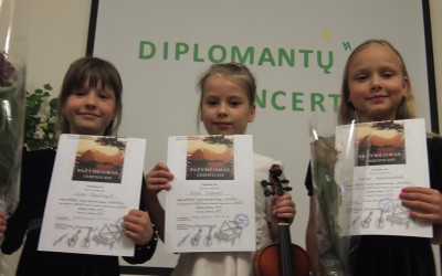 Diplomantų koncertas 2014
